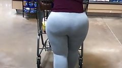 Fat booty mixed big booty latina and black milf candid