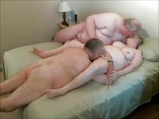 Grandma fucked by twoo grandpas