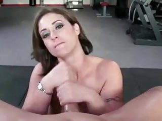 Eva Notty gets a big POV facial