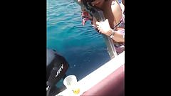Remarkable, milf squirts on boat