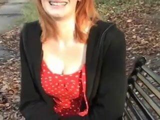 Milf amateur redhead public flashing (tu22)