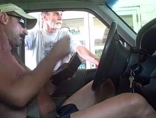 Driving with cock out