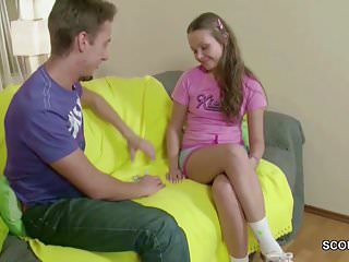 He Fuck His Extrem Small Step-Sister in Ass With Big Dick