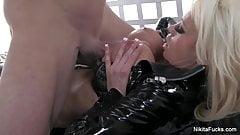 Busty Nikita Fucks a big thick cock