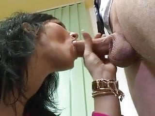Filthy Whores Fuck their Bosses - Anal & Cum Swallowing