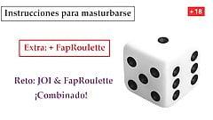 JOI Espanol ESPECIAL CON AZAR, Instrucciones masturbacion.