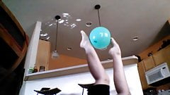 Zoe Plays with Balls