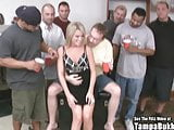 Small Titty Country Blonde Wild Gangbang