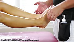 NuruMassage Daughter Demonstrates Nuru for Stepmom