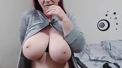 Webcam Girl with Big Boobs
