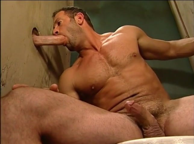 Glory hole men