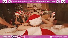 VRBangers Orgy With Abella Danger And Her 7 Elves Part 2