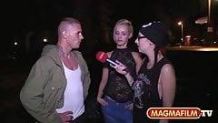 PimmelBingo: Fremde Maenner auf der Strasse angeblasen...