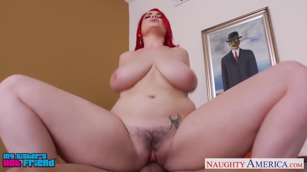 Fiery redhead fucked