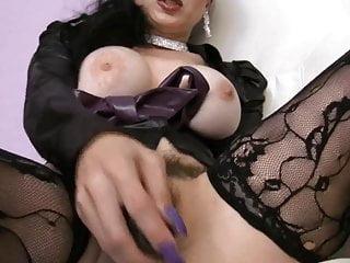 Busty Hairy Pussy Milf Secretary Masturbating Joi