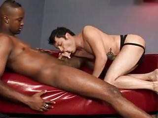 White Twink Gets His Asshole Rammed Hard By A Huge Black