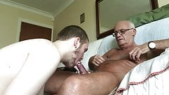 Older & younger men make love (7)