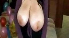 huge boob bbw teases