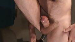 prostate milking and cum