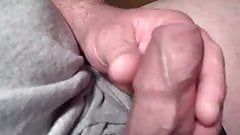 my shiny cock comming