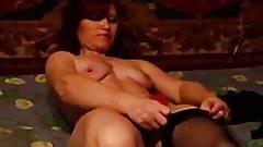 Russian redhead MILF suck cock