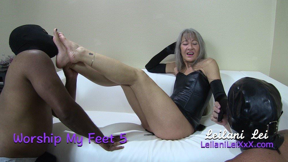 Ebony Amateur Feet Worship
