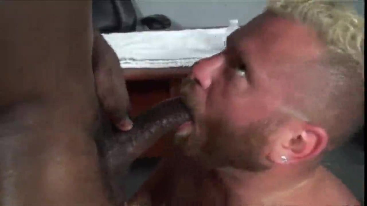 Interracial CockSucker