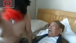 two grandpa, a whore and a pimp-operator's Thumb