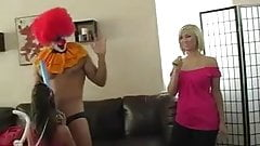 Clown's Anal Present For 18 Birthday