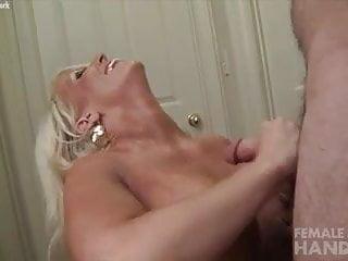 Alura Jenson Gives a Handjob Gets a Cumshot