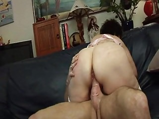 Mature French BBW Olga & Friends 1