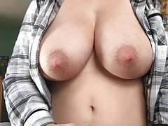 Edging with her tits out till I cum