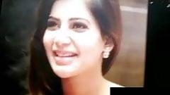 Cum Tribute to Samantha Akkineni Cute face