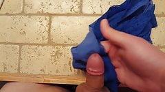Me cumming in best friend's girlfriend's stolen panties