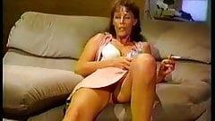 Weirdo Sweaty Granny Slut Gangbanged