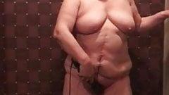 Asian BBW Granny Using Vibrator