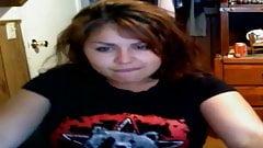 Hot Busty Teen on Webcam