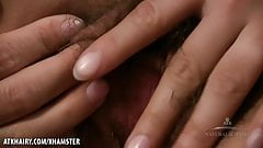 Kalei invites you closer to her hairy pussy