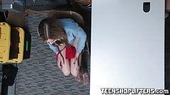 Teen cutie Blair Williams fucks hard to avoid jail time porn image