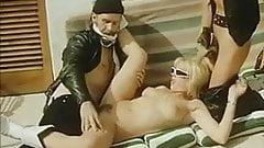 Vintage Biker Sex Threesome
