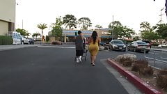 Monster booty Latina BBW MILF in yellow dress Pt 3