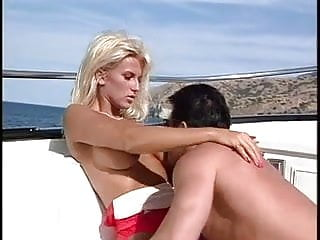 Hot and horny lifeguard ends up fucking the guy she rescued from drowning