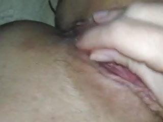 Slut wife dips wedding ring in boyfriend's cum
