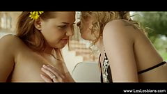 Beautiful Location Lesbian Love's Thumb