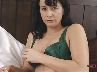 Milf catches you looking up her skirt