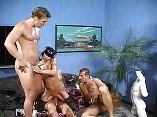 3 Men Blindfold and Sensually Fuck Her ((FYFF))