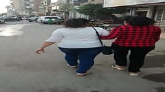 Two Egyptian big ass girls