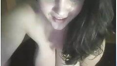 Hot chubby girl show her body