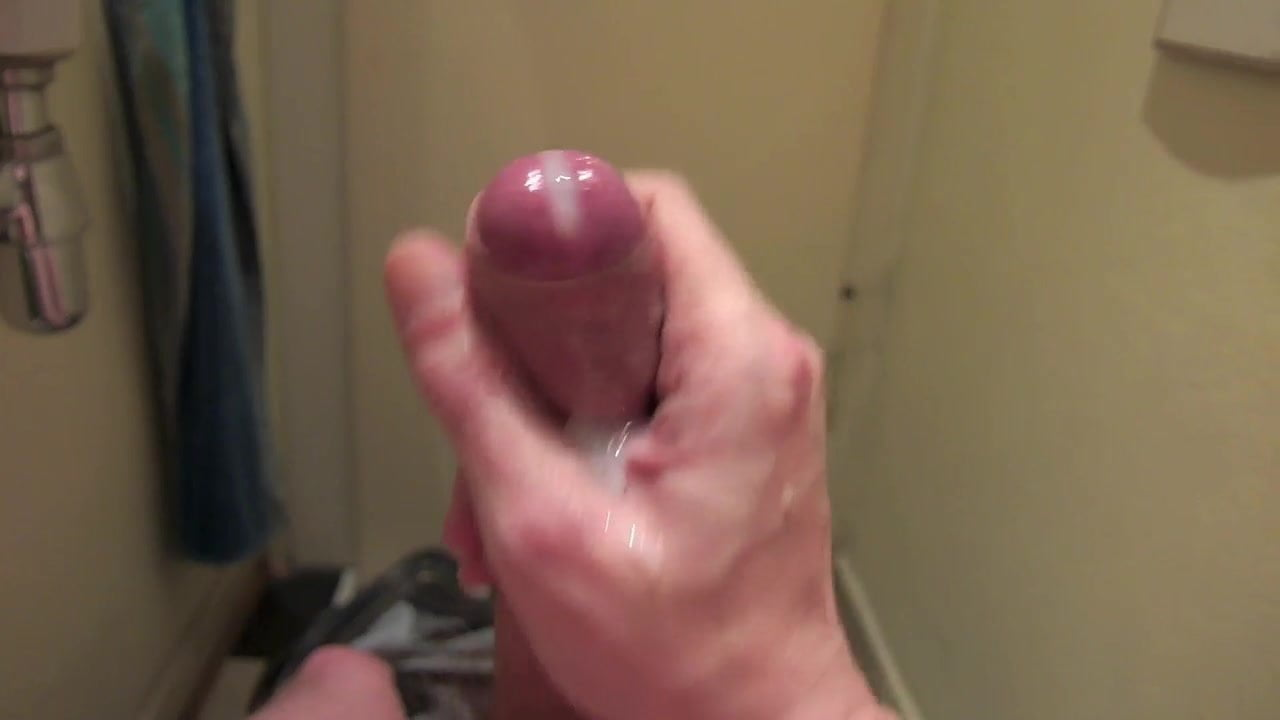 A nice uncut dick gives up the boy juice