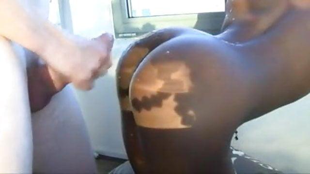 Preview 1 of White guy fucks African girl